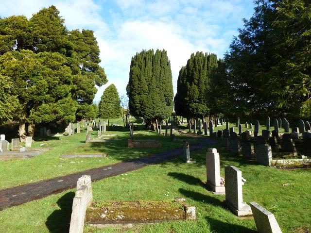 Cemetery near Sparkwell