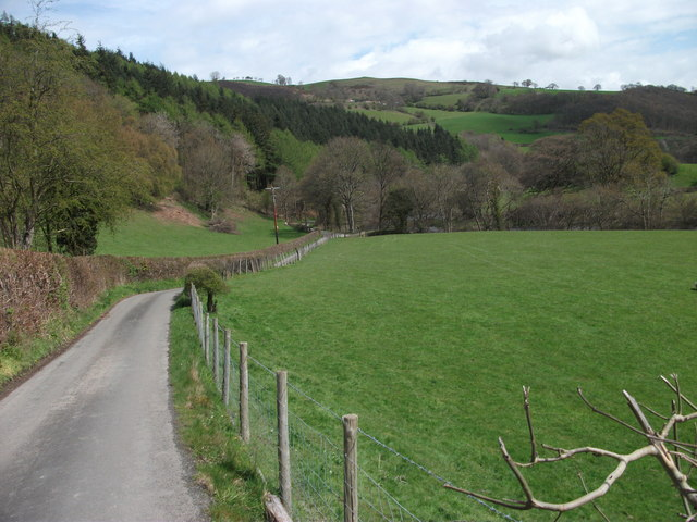 The lane to Rhewl