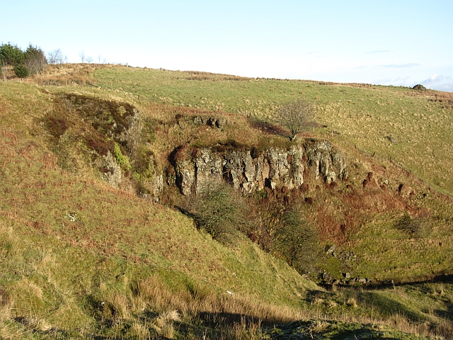 Crags, Banton Burn