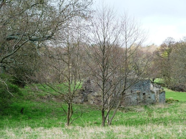 The ruined Partridge Close Mill