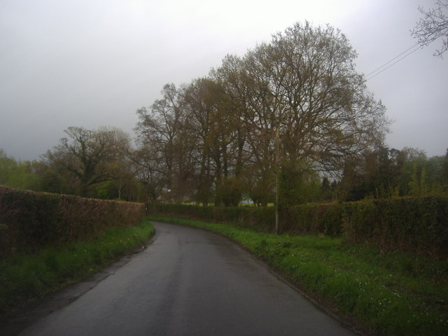 Eridge Road going towards Eridge