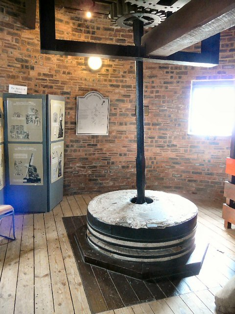 Inside Lytham Windmill