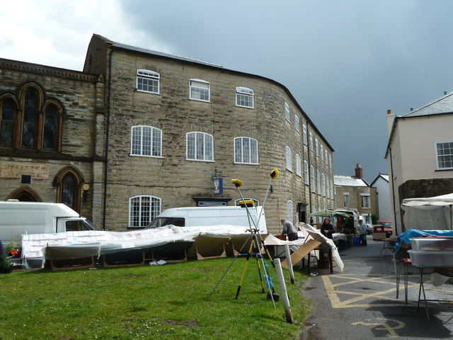 Old carpet factory, Silver Street, Axminster.