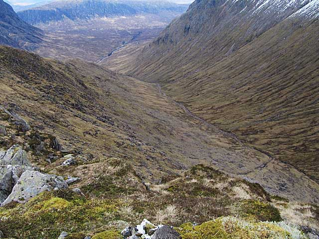 Fionn Ghleann NE of Beinn Mhic Chasgaig
