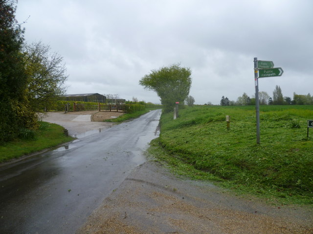 Court Lane at Boorman's Farm