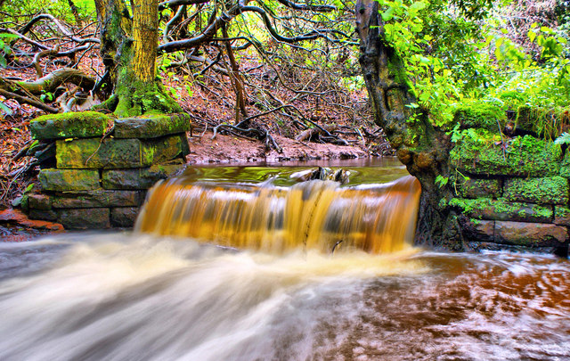Kirklinton Hall weir