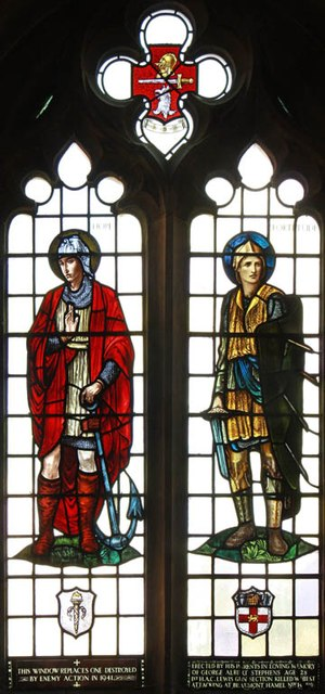St James, Muswell Hill - Stained glass window