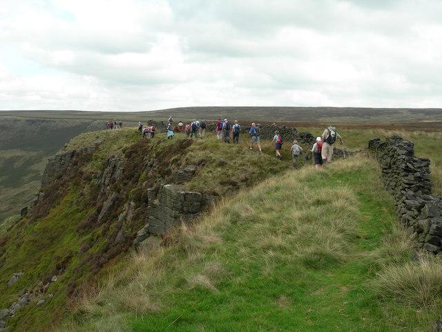 Ramblers on the edge path