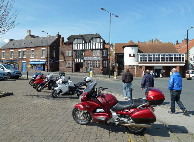 Bikes at Whitby