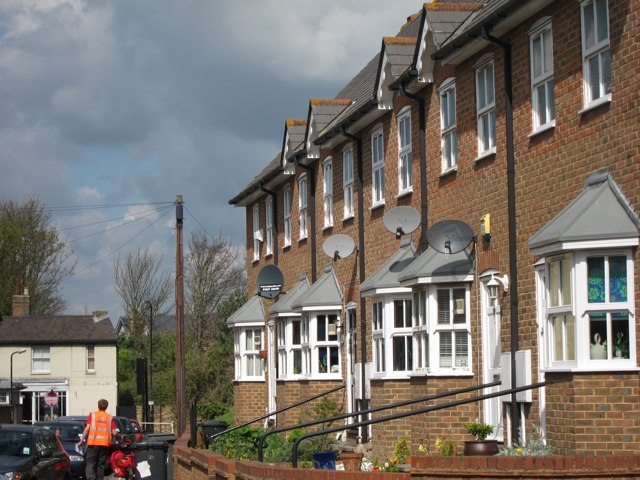 Houses on Gordon Road