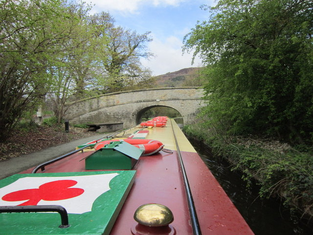 Bridge #38W, Llangollen Canal