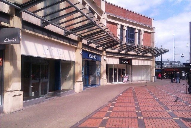 Former Millets shop, and other vacant stores,The Parade, Swindon