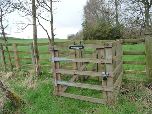 The Environment Agency's private gate