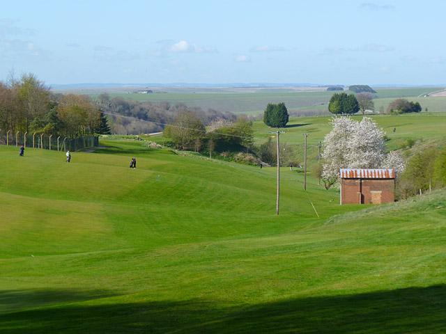 Golf course, Upavon