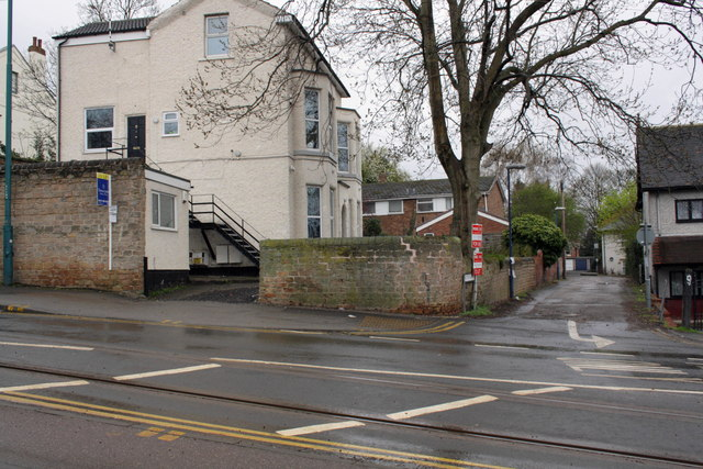 Junction of Mount Hooton Road and Weston Avenue