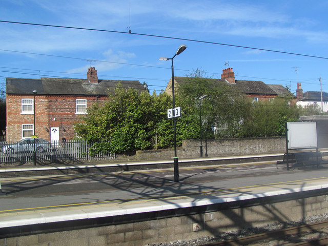 House by the Railway Line at Tring Station