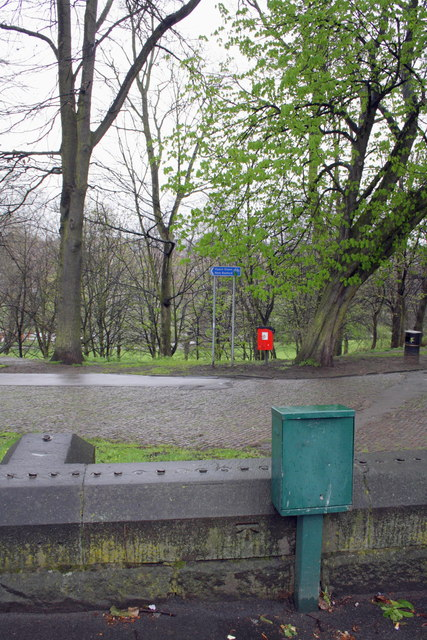 Recreation ground from Forest Road East
