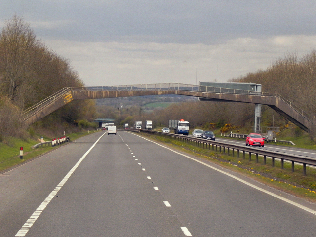 M74 Northbound, Strutherhill