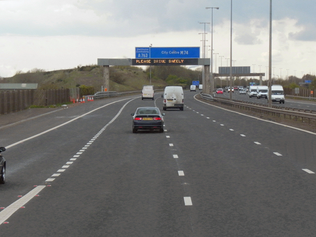 M74 Motorway