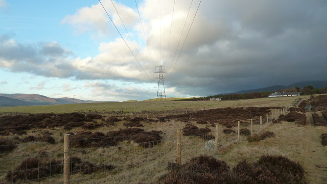 Pylon near Inverulglass