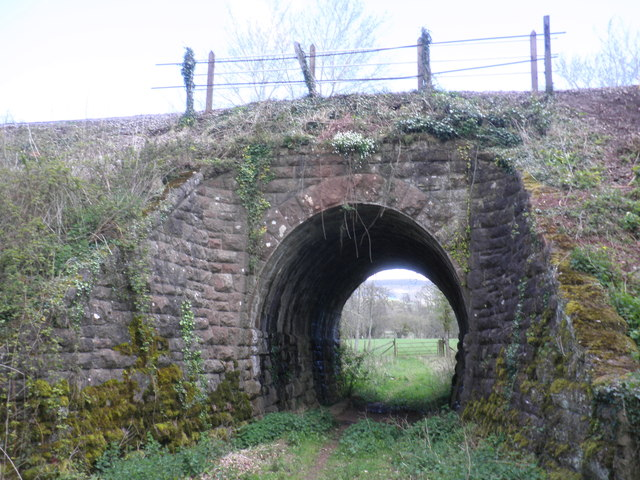 Railway overbridge near Kingswood