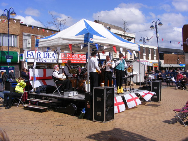St Georges Day Bilston