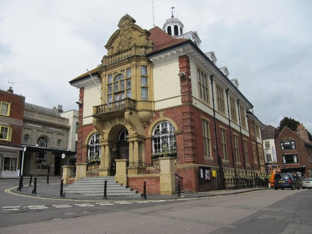 South side of the Town Hall