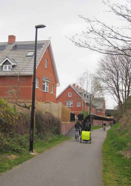 Bristol & Bath Railway Path at Ridgeway