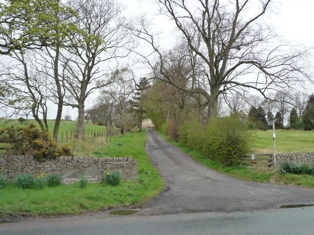 Track to Hollinside Farm
