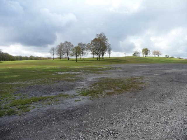 A bare patch in Heaton Park