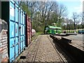 SD8303 : Outside Heaton Park Tram Museum by Christine Johnstone