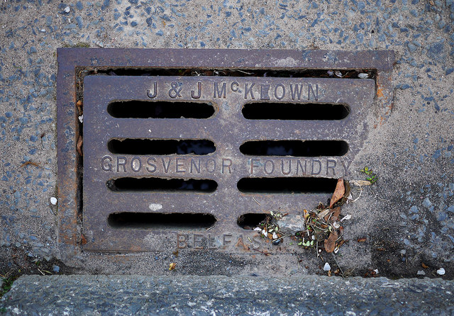 Gully grating, Bangor