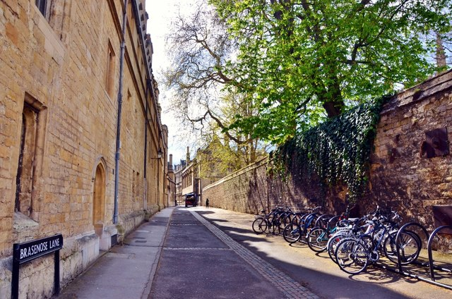 Oxford: Brasenose Lane