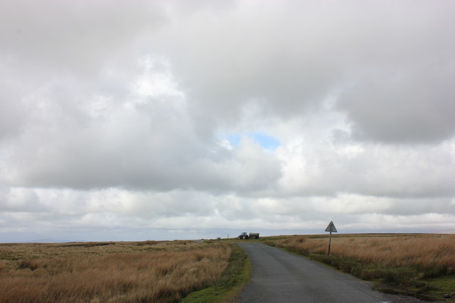 Slaidburn Road toward Bentham