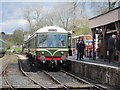 TQ8833 : Train at Tenterden Station by Oast House Archive