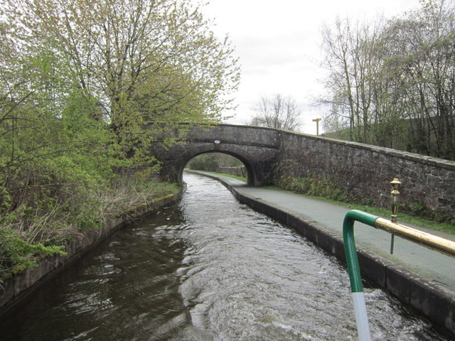 Bridge #41W on the Llangollen Canal