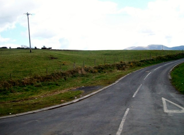 The northern end of the Market Road