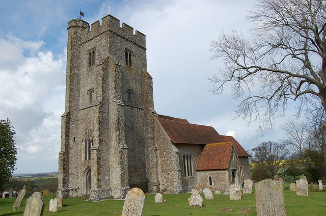 St Mary's church, Stone in Oxney
