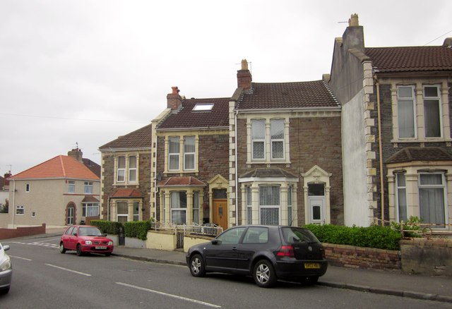 Houses on Whiteway Road, Bristol