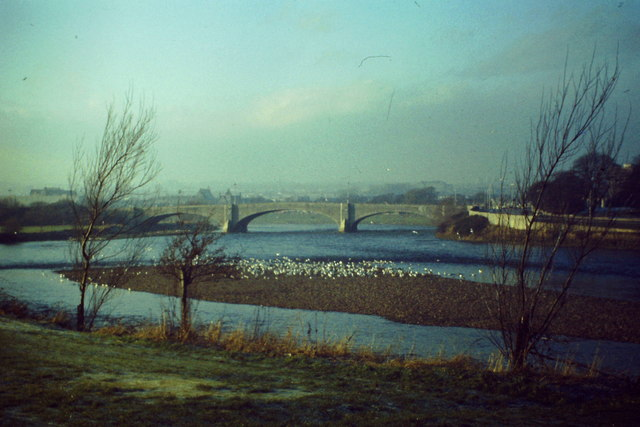 River Dee by Kincorth
