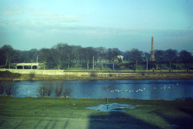 Duthie Park from Kincorth