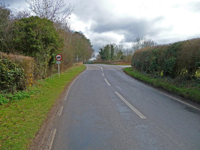 Red Post Bridge - The Road From Weyhill