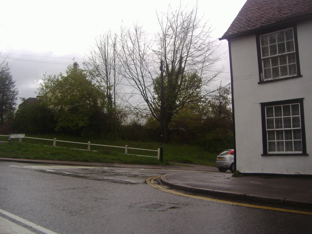 Junction of Stortford Road and Rosemary Lane, Dunmow