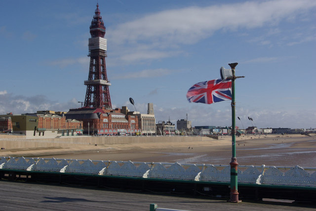 Blackpool Tower from North Pier © Stephen McKay ...