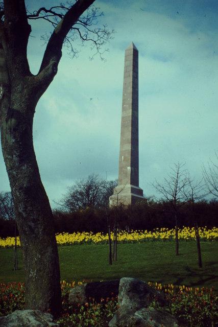 Obelisk, Duthie Park
