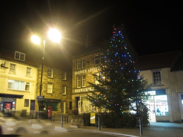 Berwick upon Tweed Christmas Tree