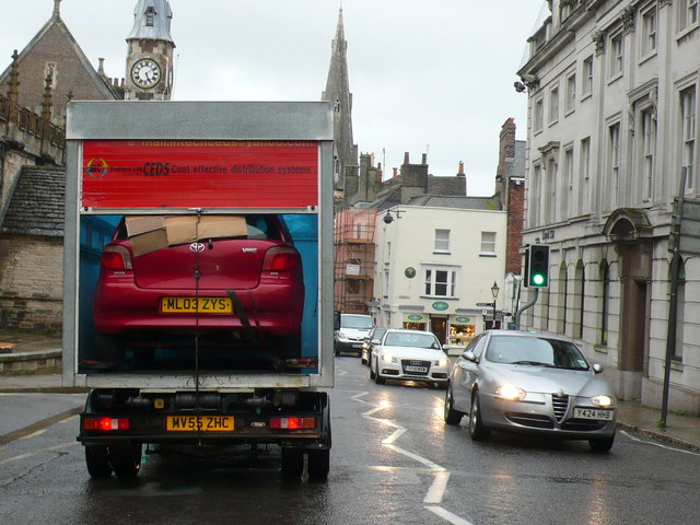 Car in a Van, Dorchester High St