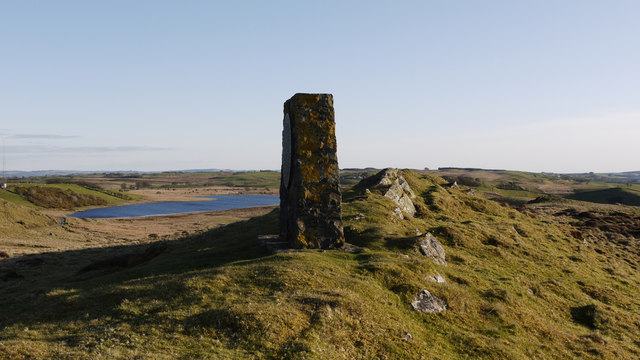 Monument west of Hafod Ithel