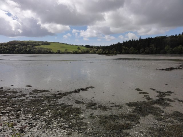 The head of Glandore harbour