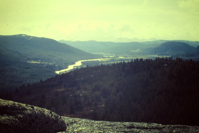 Upper Deeside from Cnoc Dubh